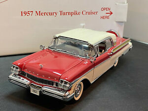 Danbury Mint 1957 Mercury Turnpike Cruiser 1/24 Diecast New Opened For Pics