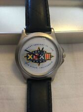 NFL SUPERBOWL XXXII WATCH FOSSIL JANUARY 25 1998 DENVER BRONCOS