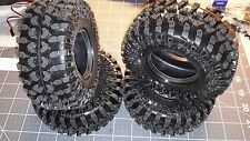 2.2 Tires (4) 120mm for scx10 rc4wd tamiya crawler projects