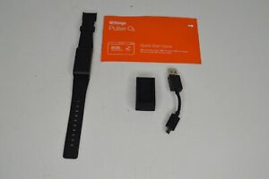 Withings Pulse O2 Smart Activity Tracker With Blood Oxygen Level Used WORKING