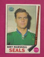 1969-70 OPC #  80 SEALS BERT MARSHALL EX CARD (INV# A7341)