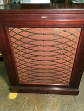 Single Mahogany 1940's Altec 605A Cabinet with 604B Coaxial & N-1000-B Crossover