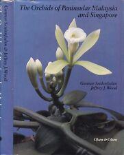 Seidenfaden & Wood ORCHIDS of PENINSULAR MALAYSIA & SINGAPORE (1992) malaya