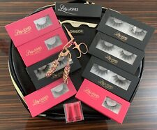 LILLY GHALICHI TRAVEL CASE LASHES, CURLER + More... NEW