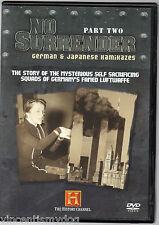No Surrender - German & Japanese Kamikazes part 2 (DVD, 2007)