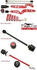 T-Rex Ducati 07-08 1098 R/S 09-2011 1198 S/R SP fork axle rear Frame sliders RED
