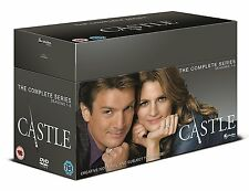 Castle Complete Series Seasons 1 2 3 4 5 6 7 & 8 1-8 DVD Region 2 New NEW