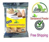 Sandalwood Powder  100% Pure & Natural Ayurvedic A Grade  Free Ship