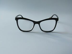 Betsey Johnson ARCHED FRAME Reading Glasses Readers Black NEW
