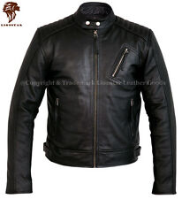 Lionstar Fast Stylish Motorbike Motorcycle Real Leather Biker Style Jacket
