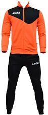 Giacca Pantalone Legea Messico Tornado Man Fashion Uomo Relax Allenamento Fitnes 1.giacca Large Arancio/nero