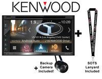 "Kenwood DNX575S 6.8"" Multimedia Receiver with Garmin Navigation w Backup camera"