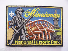 Boy Scouts of America (BSA) MINUTEMAN National Park Series PATCH