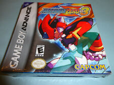 Mega Man Zero 3  (Nintendo Game Boy Advance, 2004) new gba
