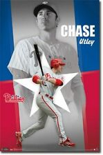 BASEBALL POSTER Chase Utley Philadelphia Phillies MLB