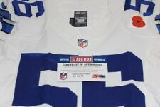 NFL LONDON GAMES, DOBBINS #56 GAME ISSUED COWBOYS JERSEY NOVEMBER 9, 2014