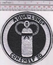 SCUBA Diving USA US Divers Aqua-Lung Conshelf 30 Regulator Patch Los Angeles, CA