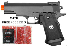 Replica Airsoft spring Heavy duty Metal Gun Pistol WITH 2000 FREE BB'S PELLETS