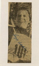 1960 Squaw Valley Olympics Skiing Gold SONJA EDSTRÖM Orig Autograph 1950s