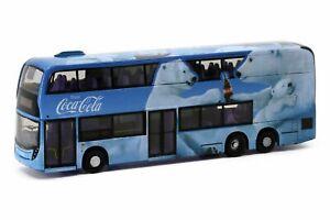 Tiny City Die-cast Model Car - Dennis E500 MMC FL 12.8M Coca-Cola Bears Bus