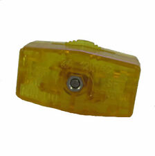 STP-1 GOLD AMBER ZING EAR KS-30 IN LINE ON / OFF ROTARY LAMP SWITCH #TXP27