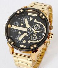 New Fashion Men Watch Luxury Gold Steel Analog Calendar date Quartz Watches