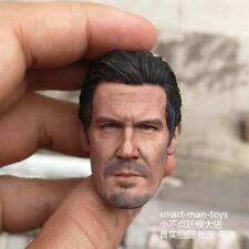 1/6 scale Head Sculpt Josh James Brolin Avengers Thanos fit 12'' figure body