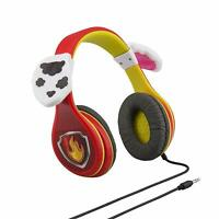 PAW Patrol Marshall Headphones Kid Friendly Red with Ears Childrens Character