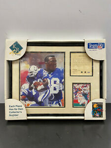 Indianapolis Colts Marshall Faulk Football Plaque Rare brand new in original Pac