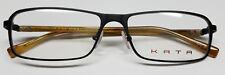MEN KATA TITANIUM K 5 NOIR REVERSE Eyewear FRAMES Eyeglasses 55 16 140 Hard Case