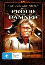 THE PROUD AND DAMNED - BRAND NEW & SEALED DVD (CHUCK CONNORS) WESTERN