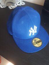NEW Era Cappello New York 7 1/2 FULL Cap Blu