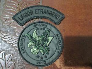 écussons - Patch- Légion étrangère- 2º REG-GCM -ASS-C-IED-