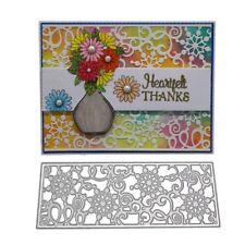 Lace Flower Metal Cutting Dies Stencil DIY Scrapbooking Embossing Card Craft