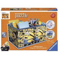 Ravensburger 11260 Despicable Me 3 216 piece 3D Puzzle Storage Box