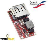 Convertisseur abaisseur Module d'alimentation DC 6v-12v-24v to 5V USB Output