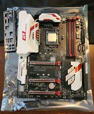 Intel I7 6700k CPU Motherboard Combo Gigabyte z170x-Gaming7