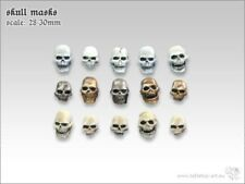 totenkopfmasken (15) Tabletop Type Skulls conversion skeltte Terrain 1 3/32In