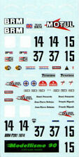 "Modellismo 90 1/43 Decal sheet BRM P201 F.1 ""Motul"" 1974 Beltoise/Pescarolo NEW"