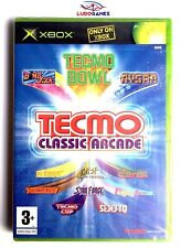 Tecmo Classic Arcade Precintado Videogame Xbox PALUK Brand New Sealed Retro