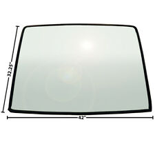 1967 68 Mustang Fastback Tinted & Shaded Rear Window Glass w/ Rubber Seal -X3671