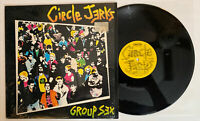 Circle Jerks - Group Sex - 1982 US Press (NM) In Shrink Ultrasonic Clean