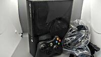 Microsoft Xbox 360 E Model 1538 Console Bundle (Tested)
