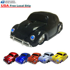 HOT 3D VW beetle Car Wireless optical Mouse PC MAC LED Mice +USB Receiver 2.4GHZ