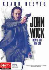 John Wick - Keanu Reeves - Action Movie DVD R4 New!
