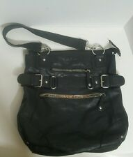 CALL IT SPRING - Black Funky Oversize Hand bag