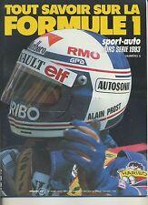 SPORT AUTO Hors Série  F1 1983