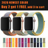 Nylon Sports Band Strap For Apple Watch 38/40/42mm/44mm iWatch Series 5 4 3 2 1