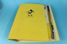 4 Micky Maus Comic Hefte in Sammelalbum Nr. 6 - 9 - von 1981 m. Beilagen   /S97