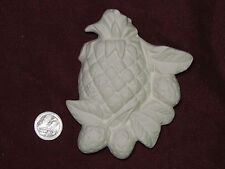 Ceramic Bisque Pineapple and Strawberry Plaque Wall Hanging U-Paint Fruit